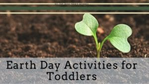 Banner for Earth Day Activities