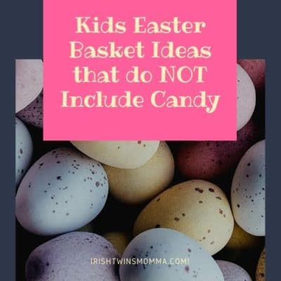 Logo for Kids Easter Basket ideas that do not include candy
