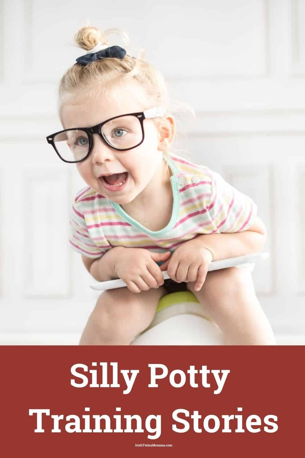 """Potty training can be a trying time for most parents, and plenty of frustrating and funny moments can happen to make good anecdotes to share with friends and family. I am sharing my hilarious potty training memories and share them with you. From singing songs about poop to leaving a """"surprise"""" behind a curtain to falling feet-first into the toilet, read on for adorable, groan-inducing, and laugh-out-loud potty training stories -- and then share your own! via @irishtwinsmom11"""