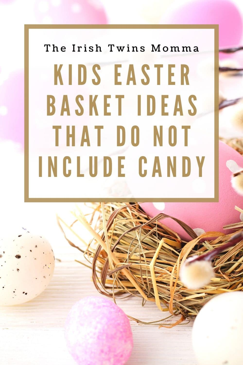 It is a time to celebrate the resurection of Jesus. Lets celebrate without sugar. Excellent ideas for your childrens easter baskets. via @irishtwinsmom11