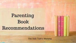 Parenting books list banner