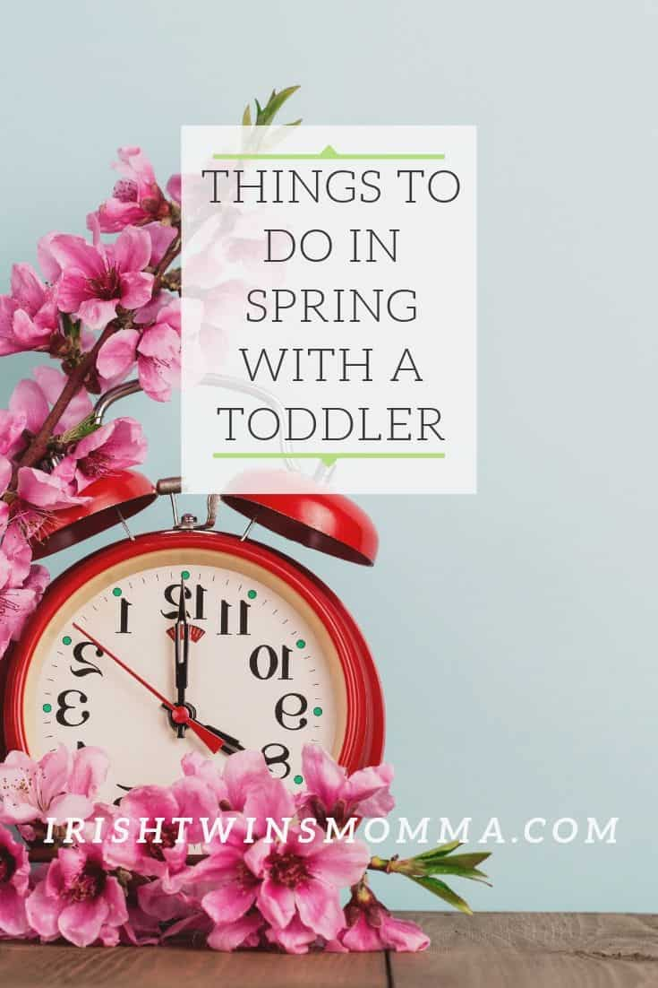 40+ things to do in spring with toddlers or in spring with kids that are low in cost and can be educational.  via @irishtwinsmom11