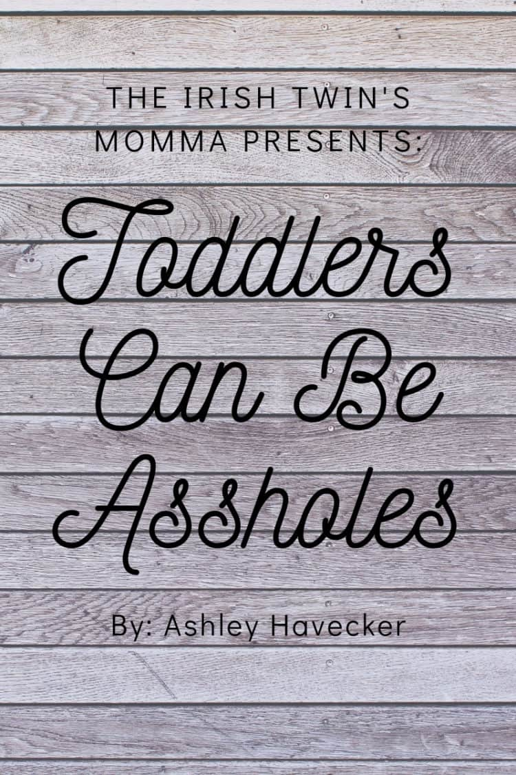 Toddlers can ruin a lot of nice things you have, but you sure do love them. I have come to just let things go as most are just material objects. via @irishtwinsmom11