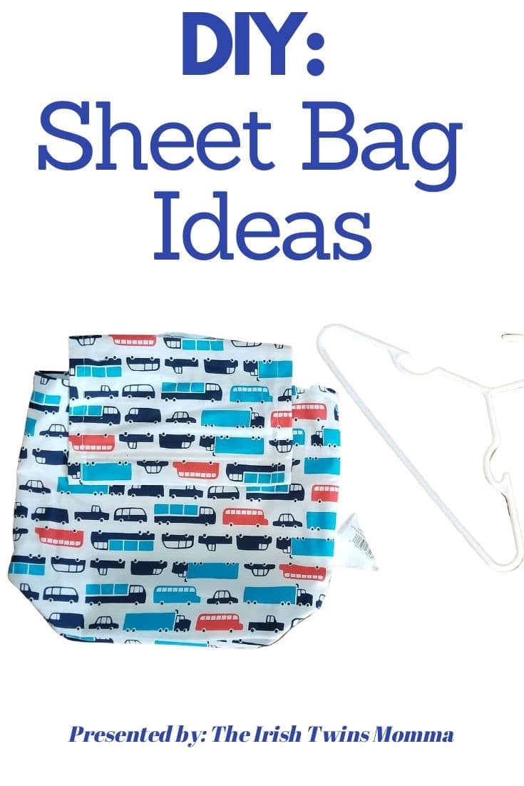 Ever wonder what to do with the bag that sheets come in? Here is a list of ideas of things that would be helpful for anyone! via @irishtwinsmom11