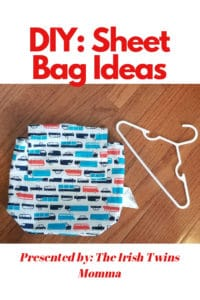 sheet bag ideas by the irish twins momma
