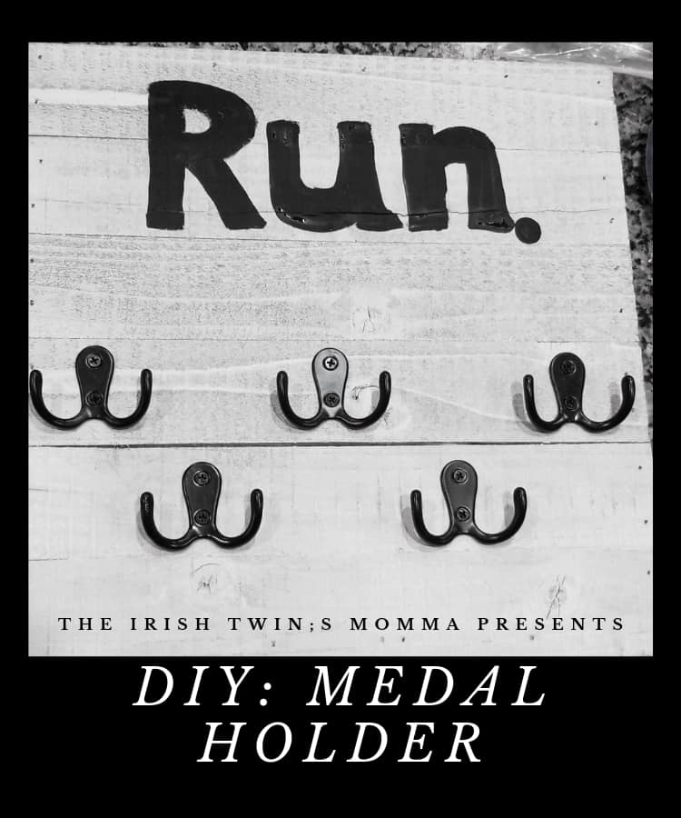 A place to hold all your medals that doesnt cost you a fortune to make. via @irishtwinsmom11