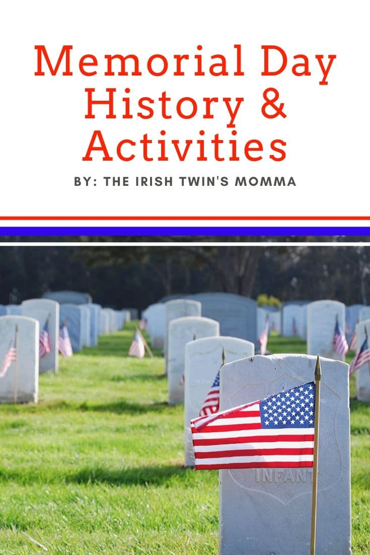 The history behind memorial day as well as some activities to do as a family to honor our service members. #MemorialDay via @irishtwinsmom11