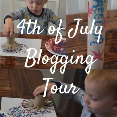 Easy 4th of July Crafts for Toddlers & MORE
