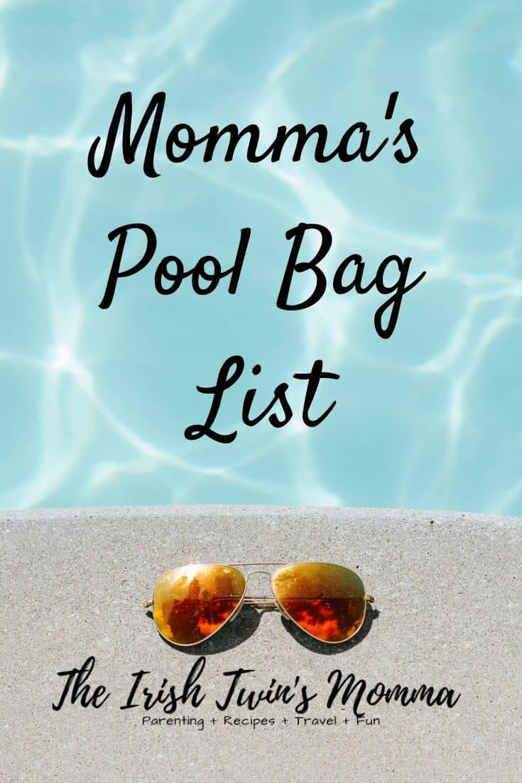 Never forget the essentials again with this printer friendly pool essential lists. via @irishtwinsmom11