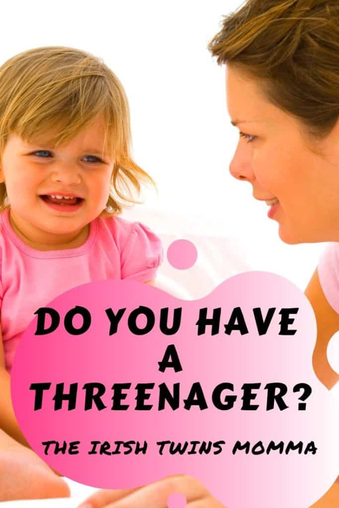 A three-year-old child that has the attitude of a teenager. Here are signs that you are experiencing this and how to embraces it. via @irishtwinsmom11