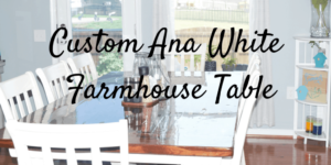 Banner for Ana White Farmhouse Table