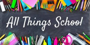 All thing school with school supplies