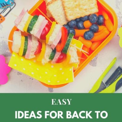 EASY Ideas for School Lunches