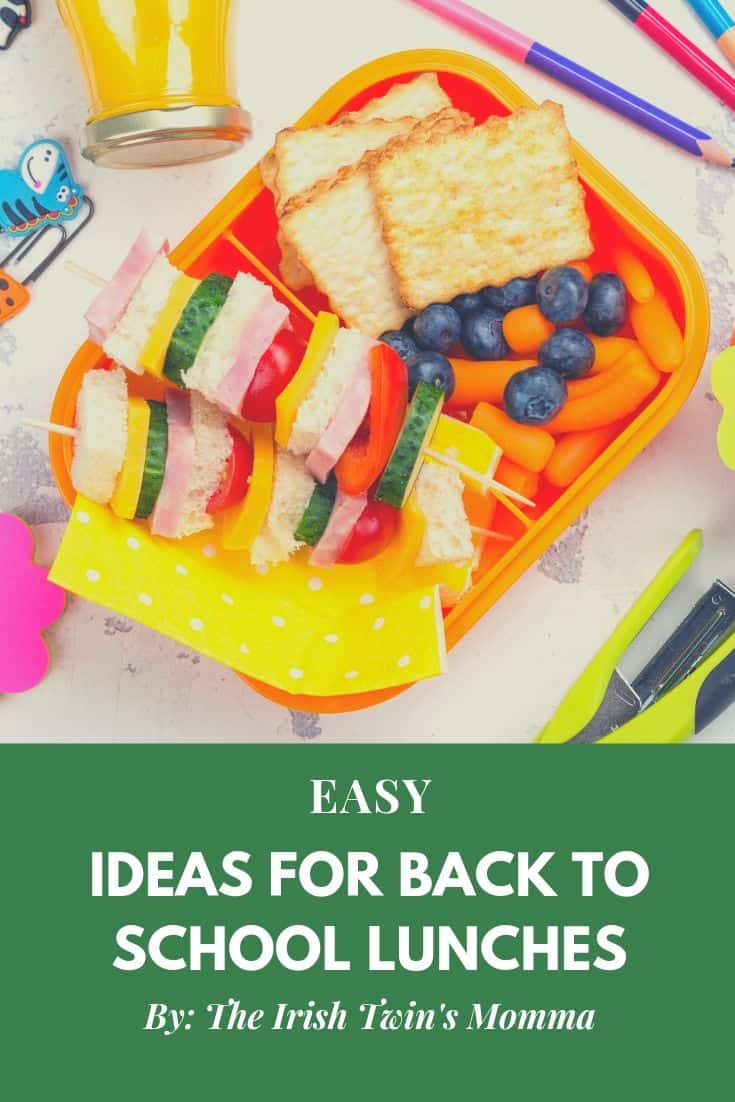 Easy ideas for back to school lunches