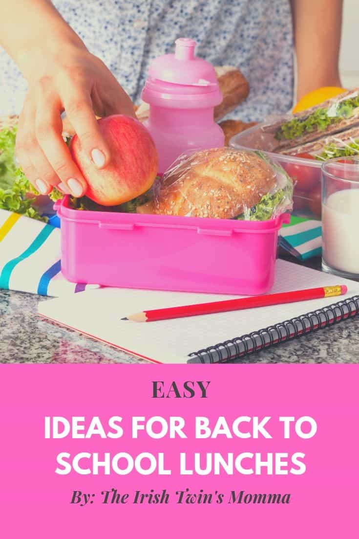 Make lunch nutritious and fun for your kids with these ideas that won't take you very long to prepare. via @irishtwinsmom11
