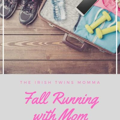 Fall Running with Mom