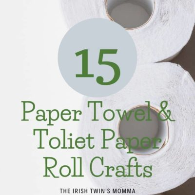 Paper Towel & Toilet Paper Roll Crafts