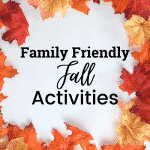 Family Friendly Fall Activities