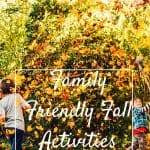 Fall activites with kids