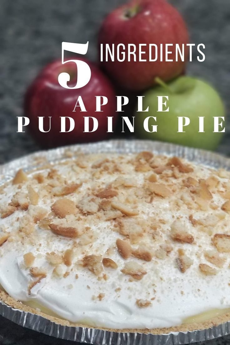 Easy and delicious applesauce topped with pudding and cool whip to make a quick dessert for the whole family to enjoy. via @irishtwinsmom11