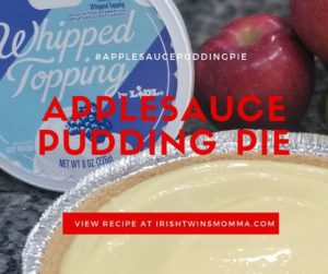 applesauce pudding pie