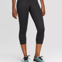 "High-Waisted Capri Leggings 20"" - C9 Champion® Black"