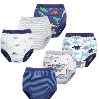 Toddler Potty 6 Pack Cotton Pee Training Pants Underwear