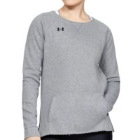 Women's Under Armour Hustle Fleece Crew