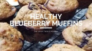 Healthy Blueberry Muffins (