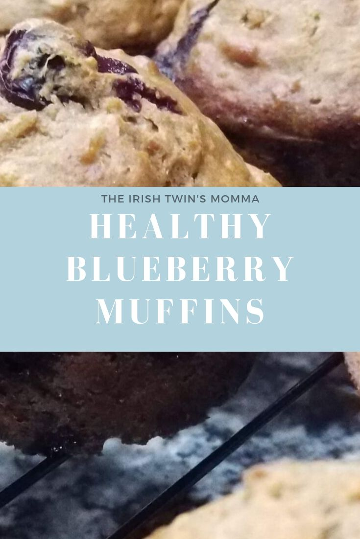 Healthy blueberry muffin recipe that is packed with nutritional value. via @irishtwinsmom11