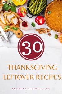 Recipes for thanksgiving leftovers pin