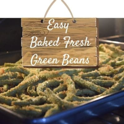Easy Baked Green Beans