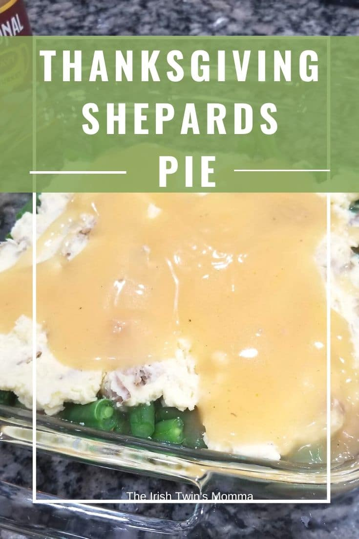 A warm delicious blend of all your Thanksgiving fixings in a dish that will keep you full and satisfied. #shepardspie #thanksgiving #thankfulmeal #leftovers via @irishtwinsmom11