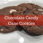 logo for chocolate candy cane cookie