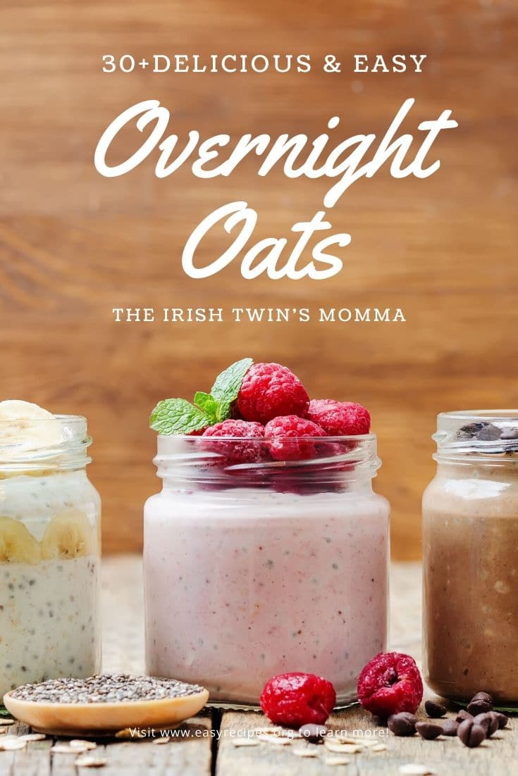 Satisfy your taste buds with oats to keep you full longer and more. Check out the benefits of overnight oats here. via @irishtwinsmom11