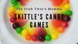 banner for skittles candy games