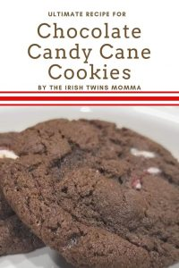 Pin for chocolate candy cane cookies