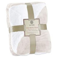 Sherpa Throw Blanket Super Soft Reversible Ultra Luxurious Plush Blanket