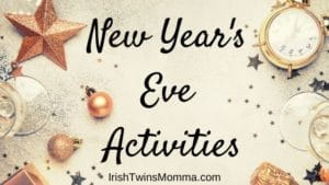New Years Eve Activities Banner