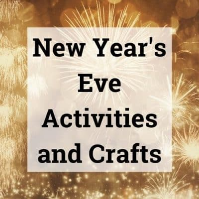 New Years Eve Activities and Crafts