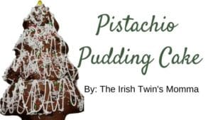 Banner for Pastachio Pudding Cake