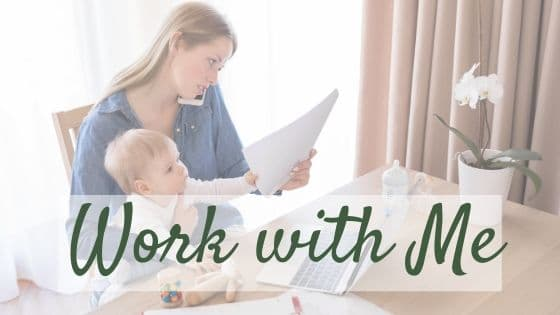 Work with me banner