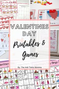 Valentines Day Printables and Games by The Irish Twins momma