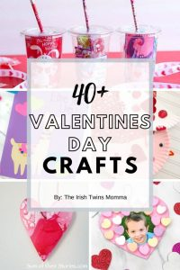 40+ Valentines Day Crafts ideas by the Irish Twins Momma