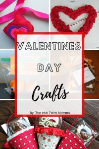 Valentines Day Crafts by the Irish twins momma
