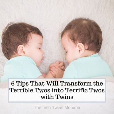Terrible twos with twins by the irish twins momma