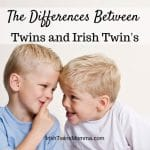 logo for differences with Irish Twins