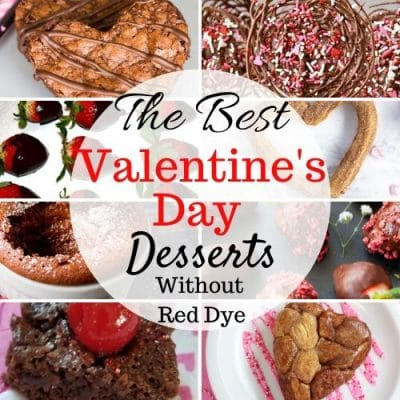 Valentine's Day Desserts without Red Dye