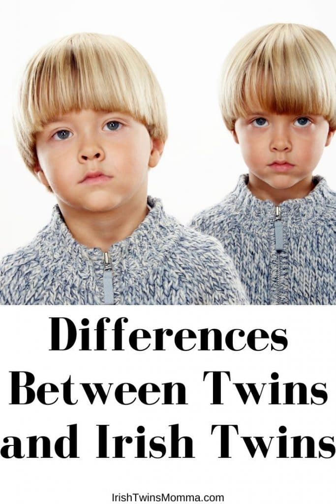 Twins in matching clothes