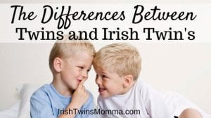 differences between twins and irish twins banner